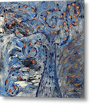 Metal Print featuring the painting Tree Of Life  by Cathy Beharriell