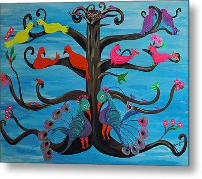 Tree Of Life Metal Print by Melanie Wadman