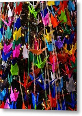 Tree Of Many Colors Metal Print