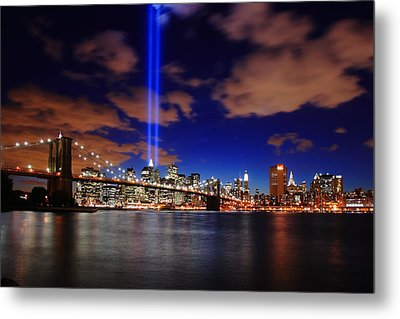 Tribute In Light Metal Print by Rick Berk