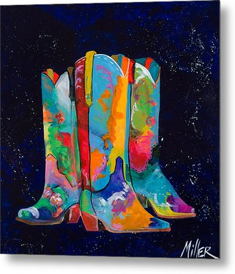 Triple Threat Metal Print by Tracy Miller
