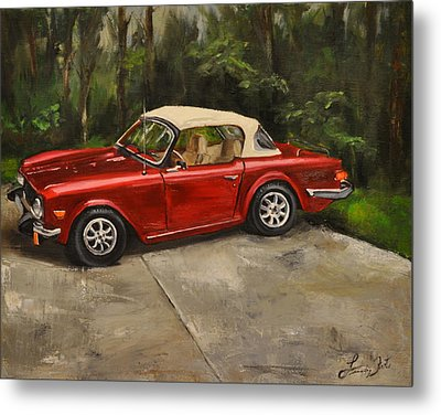 Metal Print featuring the painting Triumph by Lindsay Frost