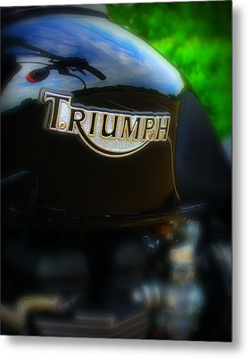 Triumph Metal Print by Perry Webster