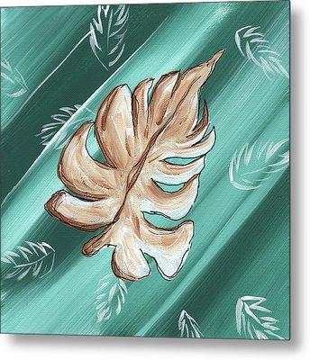 Tropical Dance 1 By Madart Metal Print by Megan Duncanson