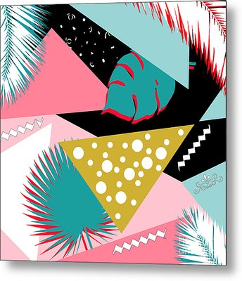 Tropics Colors  Metal Print