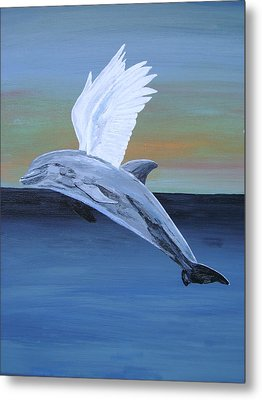 Metal Print featuring the painting True Angel 4 by Eric Kempson