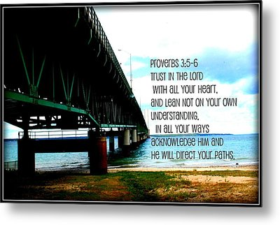 Trust In The Lord Metal Print by Elizabeth Babler