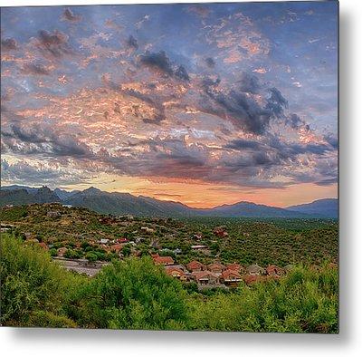 Tucson Pre-dawn Metal Print