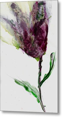 Tulip For Canada Day Metal Print