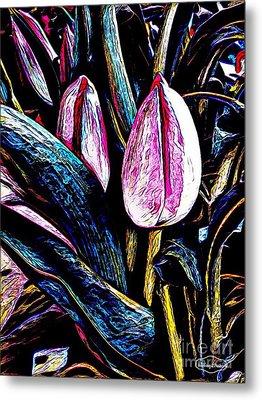 Tulip Season Metal Print