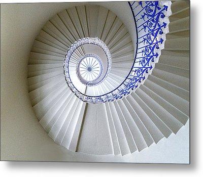 Tulip Staircase Metal Print by Jae Mishra