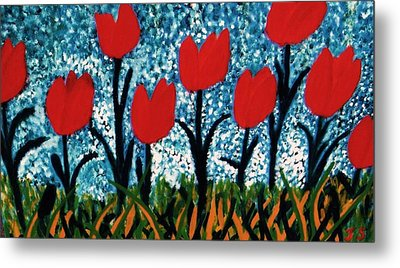 Tulip Time Metal Print by John Scates