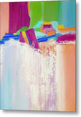 Tumbling Waters Metal Print by Irene Hurdle