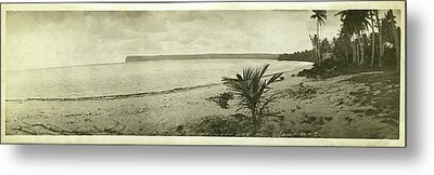 Metal Print featuring the photograph Tumon Bay Guam by eGuam Panoramic Photo