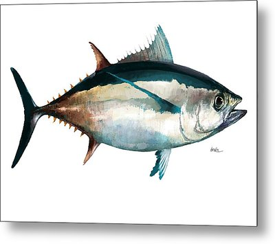 Tuna-no Copy Metal Print by Trevor Irvin
