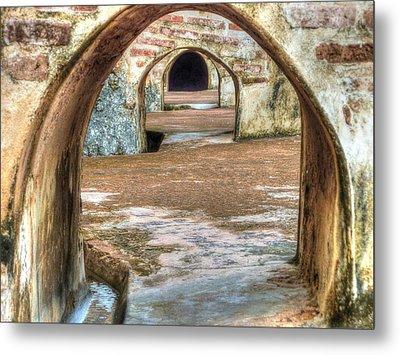 Tunnel Vision Metal Print by Michael Garyet