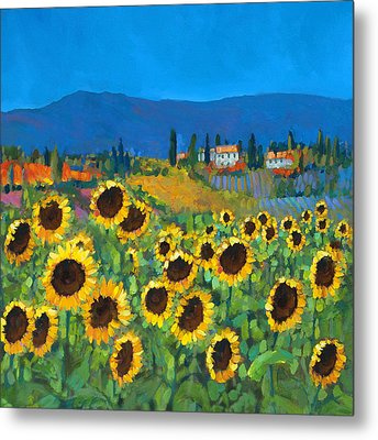 Tuscany Metal Print by Chris Mc Morrow