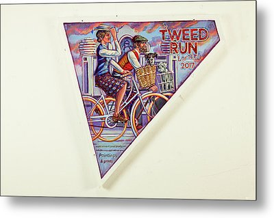 Tweed Run London Princess And Guvnor  Metal Print