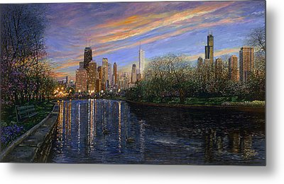 Twilight Serenity Metal Print by Doug Kreuger