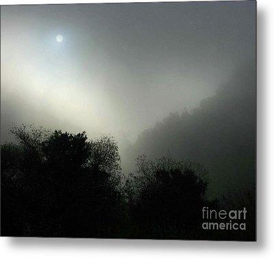 Twilight Valley Of The Moon California Metal Print by Gus McCrea