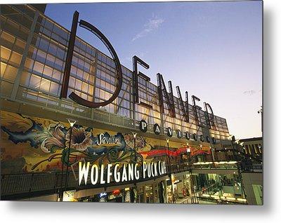 Twilight View Of The Denver Pavilions Metal Print by Richard Nowitz