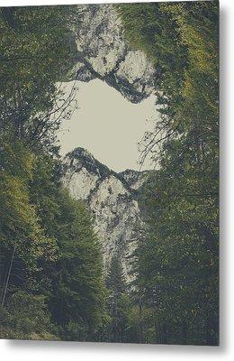 Twin Peaks Metal Print by Thubakabra