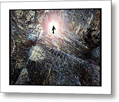 Twin Towers 9 11 Metal Print by Irma BACKELANT GALLERIES