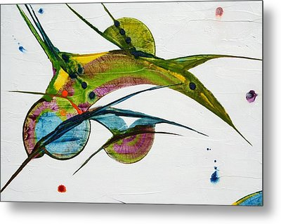 Two Birds Metal Print by Mudrow S