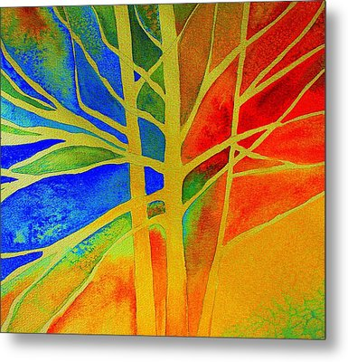 Two Lives Intertwined  Metal Print