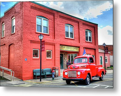 Two Old Classics Metal Print by Dale R Carlson