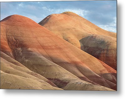Two Painted Hills Metal Print by Greg Nyquist