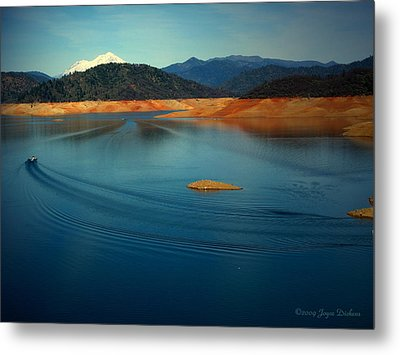 Two Shastas Metal Print by Joyce Dickens