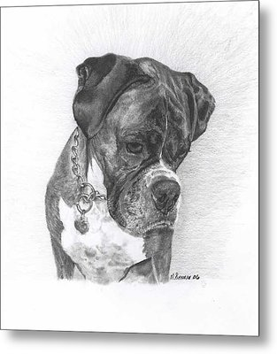 Tyson Metal Print by Marlene Piccolin