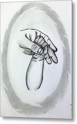 Unconditional Love Metal Print by Deepa Sahoo