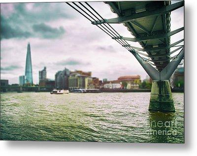 Under The Bridge Metal Print by Alessandro Giorgi Art Photography