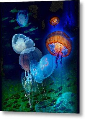Undersea Fantasy Metal Print