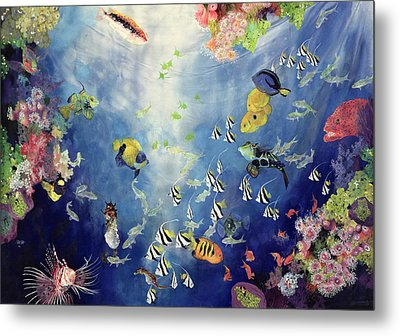 Underwater World II Metal Print