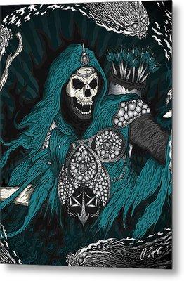 Underworld Archer Of Death Metal Print