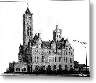 Union Station, Nashville Metal Print by Arthur Barnes