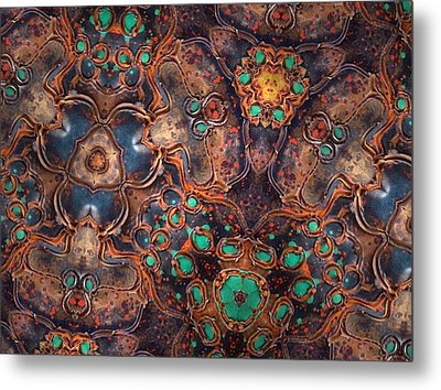 Unity Metal Print by Denise Nickey