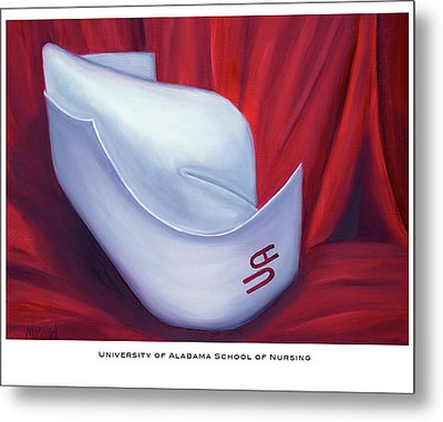 University Of Alabama School Of Nursing Metal Print by Marlyn Boyd