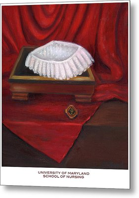 University Of Maryland School Of Nursing Metal Print by Marlyn Boyd