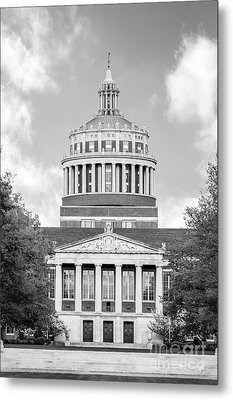 University Of Rochester Rush Rhees Library Metal Print by University Icons