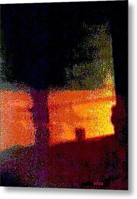 Untitled 1 - By The Window Metal Print by VIVA Anderson