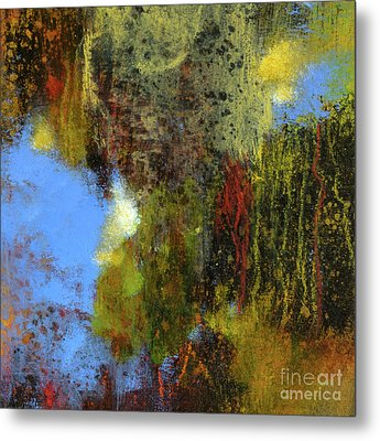 Untitled Abstract 1 Metal Print by Melody Cleary