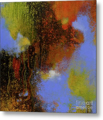 Untitled Abstract 2 Metal Print by Melody Cleary