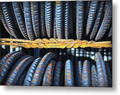 Untitled Rust 1 Metal Print by Paul Causie