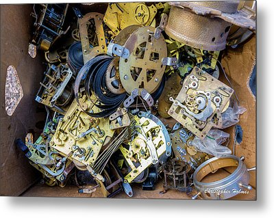 Unwinding Metal Print by Christopher Holmes