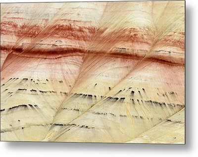 Up Close Painted Hills Metal Print by Greg Nyquist
