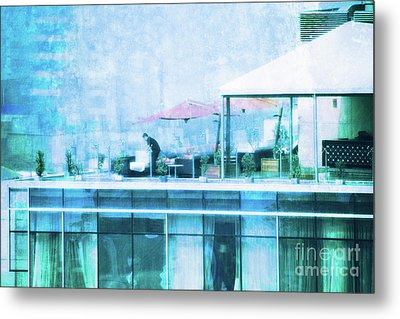 Up On The Roof - II Metal Print
